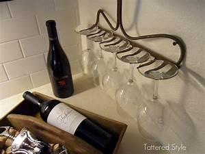 Support Verre à Vin : la photo du jour le r teau porte verres d conome ~ Teatrodelosmanantiales.com Idées de Décoration