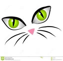 Cartoon Cat Face Clip Art