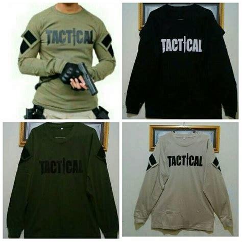 jual baju tactical panjang kaos tactical baju army kaos panjang tactical di lapak allinshop