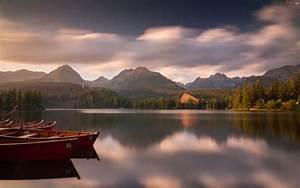 Słowacja, Góry, Tatry, Łódki