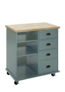 mobile kitchen island butcher block oliver and smith nashville collection mobile kitchen