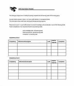 gap analysis template 17 free templates free With personal gap analysis template