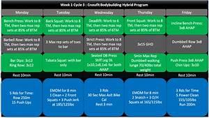 The 8 Week Functional Bodybuilding Hybrid Program  Part 3