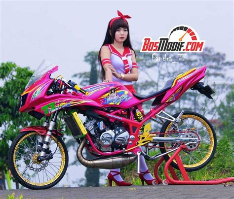 Modifikasi Rr Warna Merah by Gambar Motor Kawasaki Warna Merah Otto Modifikasi