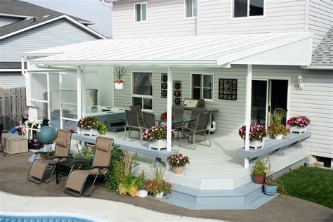 sloped patio cover architectural glass