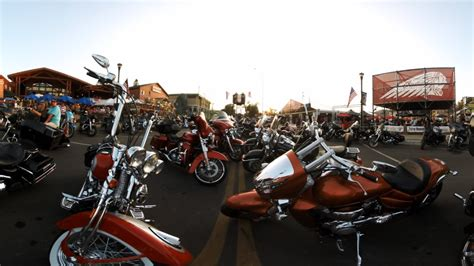 Ride With Bikers At The Sturgis Motorcycle Rally