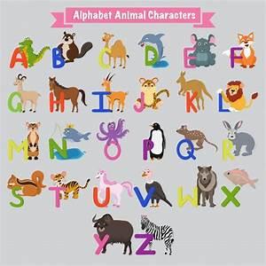 Animal Qui Commence Par U : colorido a a z letras del alfabeto ingl s con animales descargar vectores premium ~ Medecine-chirurgie-esthetiques.com Avis de Voitures