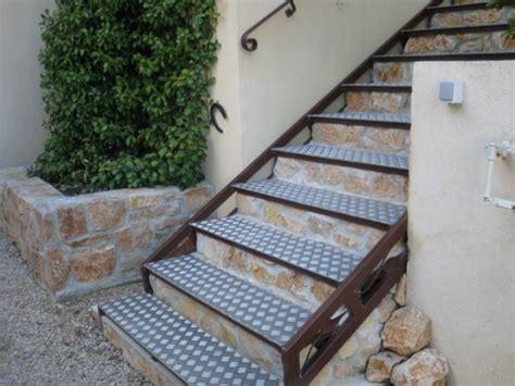 escalier en fer avec marches en alu 224 maximin