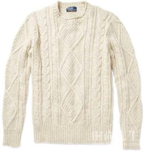 回味童年 型男冬季必备的粗冷毛衣_尚品频道_新浪网