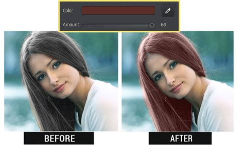 how to change hair color how to change hair color in photos without photoshop