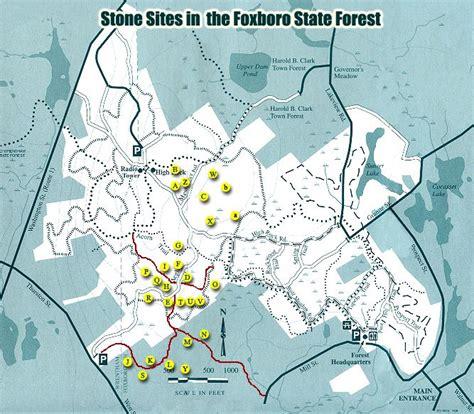 Stonesitesnet  Foxboro State Forest  Foxboro