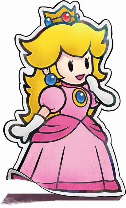 Peach Paper Princess Mario Super Luigi Jam