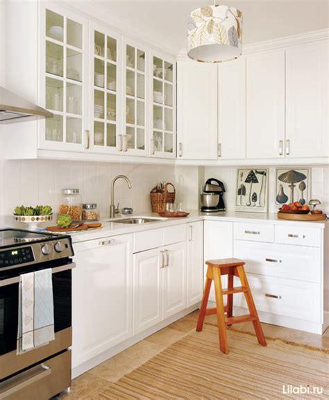 country corner kitchen белая кухня дизайн интерьера белой кухни 50 фото 2697