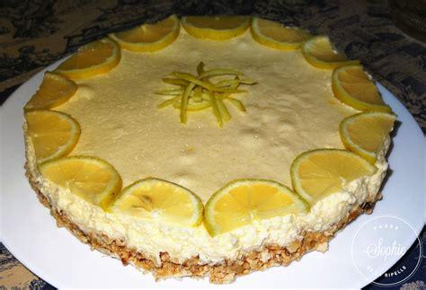 cuisiner sans sucre gâteau au citron sans cuisson la tendresse en cuisine
