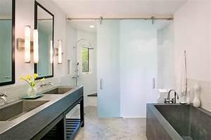 Elegant, Privacy, With, Bendheim, Satintech, Shower, Doors