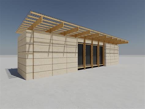 container maritime isolation en paille architecture container