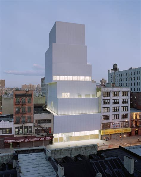 museum of modern new york new museum of contemporary by sanaa in new york united states 006 ideasgn