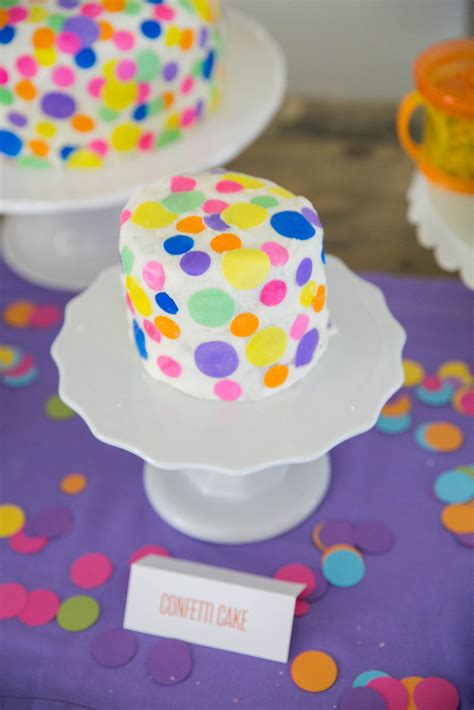 Isla's Confettifilled First Birthday Party  Project Nursery