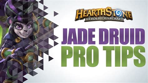 Hearthstone  Top Tier Jade Druid Deck Youtube