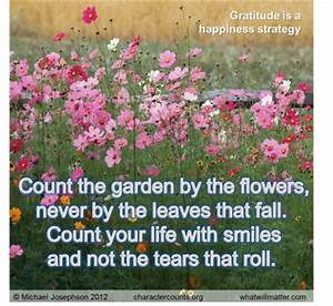 Quotes About Ha... Garden Happiness Quotes