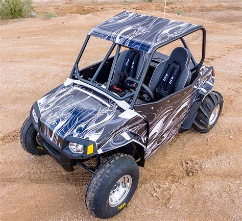 mini utv custom built polaris rzr 170 utv action magazine