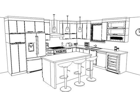 mesures cuisine conception de plans sur mesure armoires de cuisine