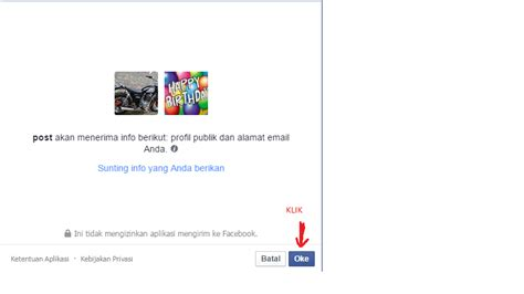 memberi ucapan selamat ulang   facebook secara otomatis httppepaya boyolali