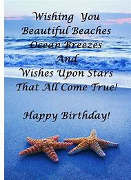 Happy Birthday Friend Beach
