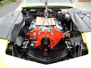 Fitting 454 Engine Back In 1970 Corvette