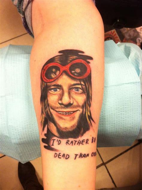 kurt cobain tattoos nsf