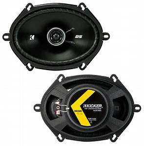 Kicker Car Speakers : kicker 43dsc6804 6 x8 ds series 35w rms 4 ohm coaxial car ~ Jslefanu.com Haus und Dekorationen