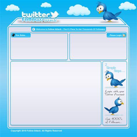 twelveskip twitter template blank twitter template for students white gold