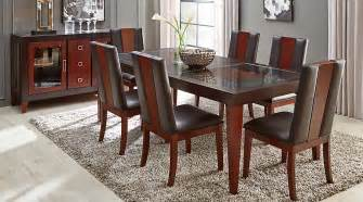 sofia vergara savona chocolate 5 pc rectangle dining room dining room sets wood - 5 Dining Room Sets
