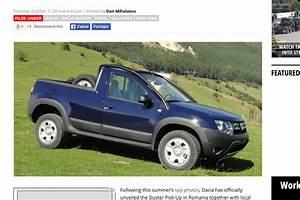 Dacia Pick Up Prix : le dacia duster pick up uniquement en roumanie ~ Gottalentnigeria.com Avis de Voitures