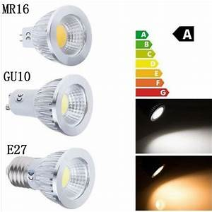 Gu 5 3 : super bright cob led lamp gu10 mr16 lampada led bulb e27 3w 5w 7w spot light spotlight gu 10 luz ~ Buech-reservation.com Haus und Dekorationen