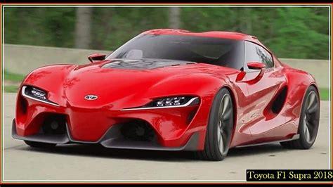 Toyota Supra 2018 F1 Twin Turbo Manual Speed