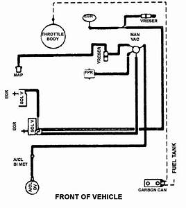 Solved  Vaccum Hose Diagram For 1987 Ford Ranger Needed