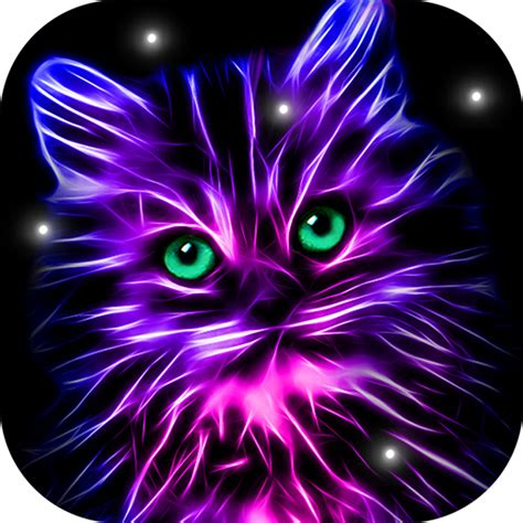 neon animals wallpaper moving backgrounds  google play
