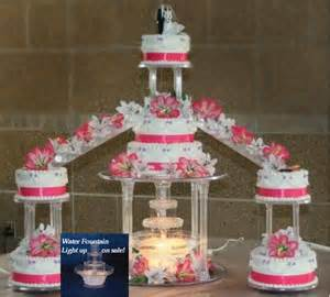cinderella wedding cake topper wedding staircase and light tiered cake stand set