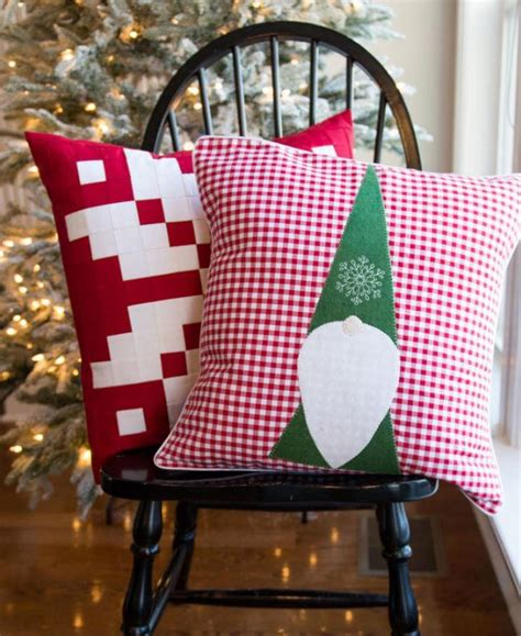 christmas elf pillow pattern favequiltscom