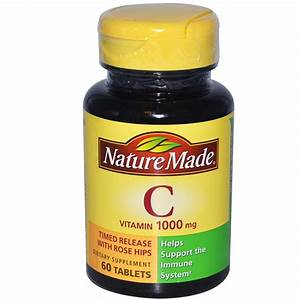 Nature Made  Vitamin C  1000 Mg  60 Tablets