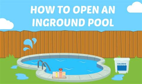 How To Open An Inground Pool In 13 Steps