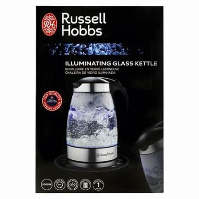 Hobbs Kettle Russell Glass Checkers Cordless Appliances