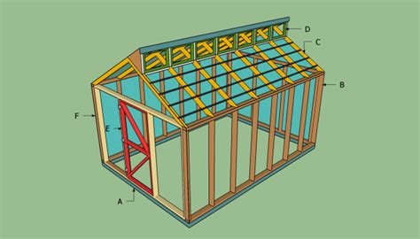 shed plans shed  stone rapid cool shed