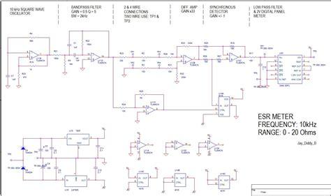 esr meter analog 5 transistor esr meter design page 1
