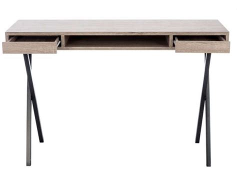 bureau contemporain bois bureau de 120 cm moderne jolipa pas cher