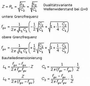 Induktivität L Berechnen : passive elektrische filterschaltungen mit ~ Themetempest.com Abrechnung
