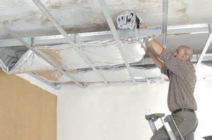 co 251 t de la pose d un faux plafond suspendu