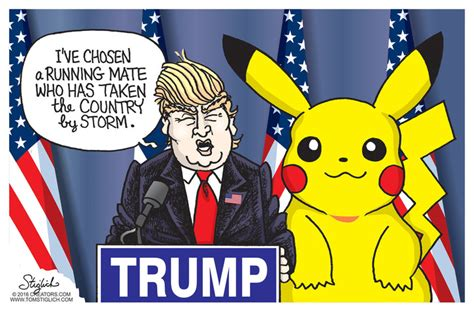 Trump Chooses Vp Nominee By Popular Demand