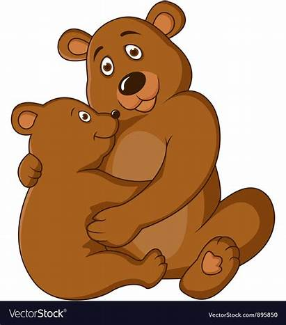 Bear Mama Clipart Clip Mother Transparent Library